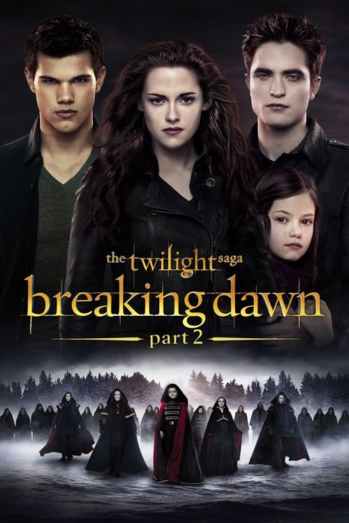 Favourite Films Which Are Like The Twilight Saga Breaking Dawn Part 1